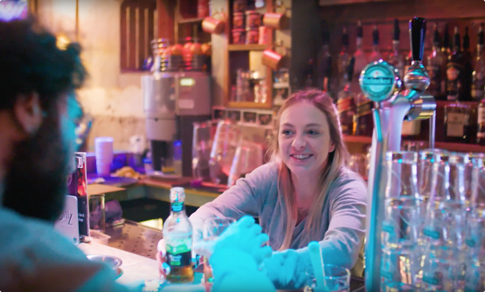 Coffeeshop bar Amsterdam