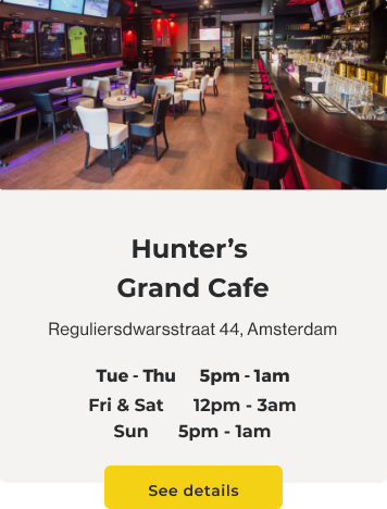 hunters-cafe-reguliersdwarsstraat