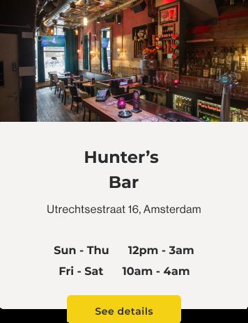hunters-bar-utrechtsestraat