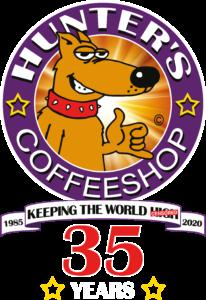 Hunters Coffeeshops — Amsterdam Logo