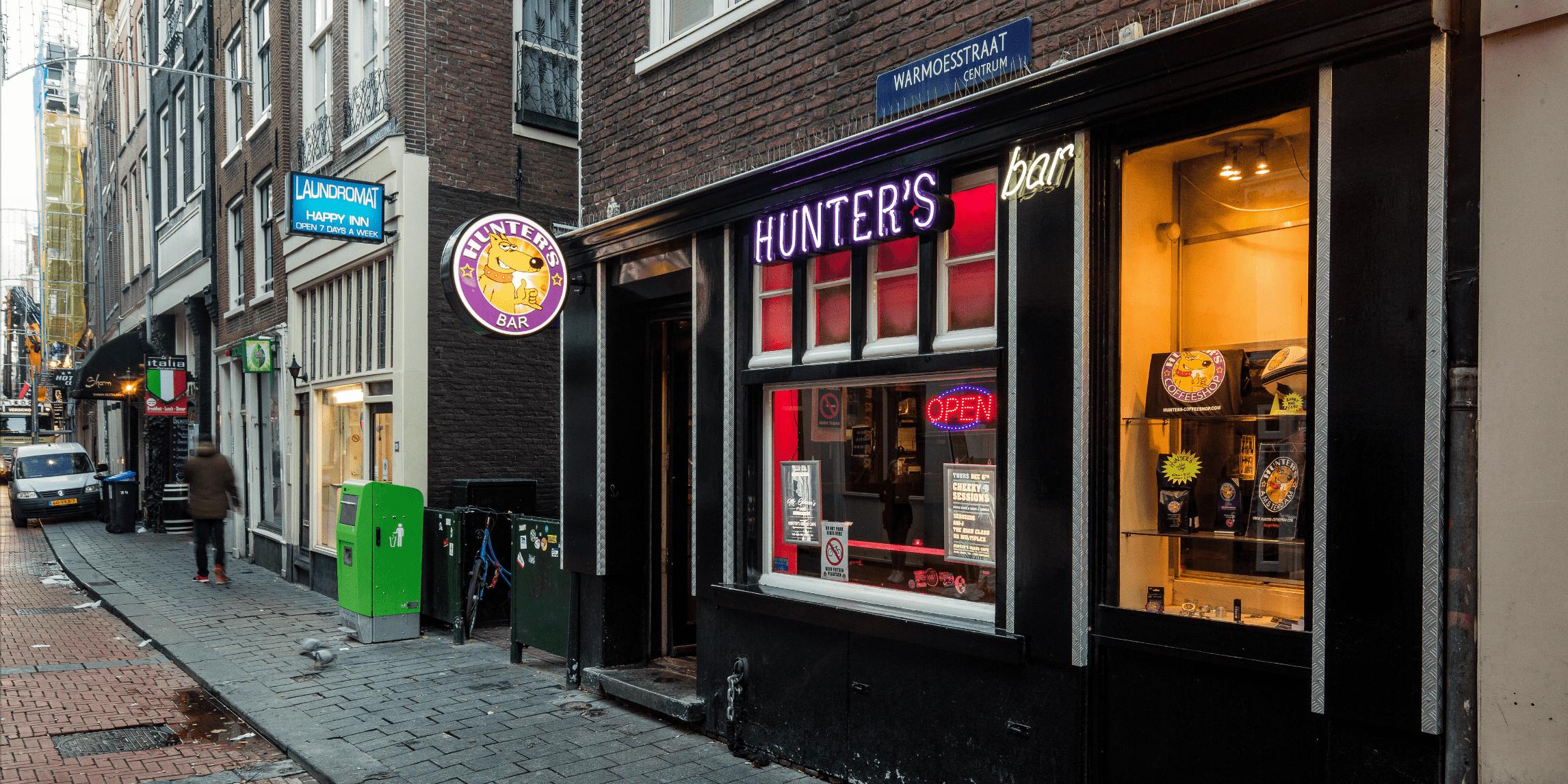 Hunter's Warmoestraat